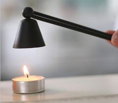 US Fashion Iron Candle Snuffer Home Banquet Candle Extinguisher Tool Desk Lamp, Table Lamp, Candle Snuffer, Candle Accessories, Vintage Candle Holders, Black Candles, Wine Bottle Holders, Oil Lamps, Bath And Body Works