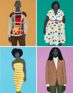 Amy Sherald's Shining Second Act - The New York Times African American Artist, American Artists, Amy Sherald, Presidential Portraits, Kehinde Wiley, Famous Portraits, Art Beat, Art Articles, Black Presidents