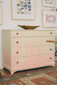"""City Skyline Chest - Bleecker Designed by Barb Blair for her book """"Furniture Makes the Room"""" Chronicle Books 2016"""