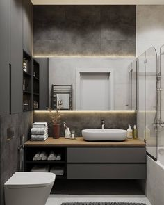 5 Bathroom Trends to Avoid Bad Inspiration, Bathroom Design Inspiration, Design Ideas, Bathroom Design Luxury, Modern Bathroom Design, Baths Interior, Vanity Design, Bathroom Trends, Bathroom Ideas