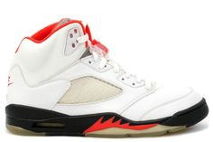 info for 51727 765ed Buy Air Jordan 5 Retro Fire Red White Black (Women Men) from Reliable Air  Jordan 5 Retro Fire Red White Black (Women Men) suppliers.