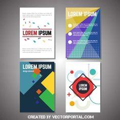 Advertisement template in vector format.