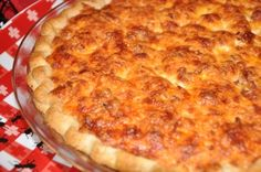 (Tomato) Pie.....bev made for us at Rosemary's....yummmmm