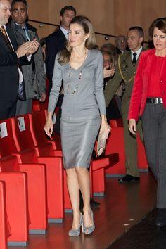 Queen Letizia of Spain Pencil Skirt