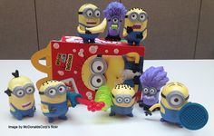 Despicable Me 2 Happy Meal Toys!