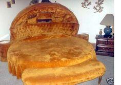 Elvis Presley's 'Hamburger' Bed