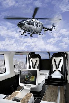 World's Most Luxurious Private Helicopters - Mercedes-Benz EC… Luxury Jets, Luxury Private Jets, Private Plane, Luxury Yachts, Mercedes Benz, Luxury Helicopter, Helicopter Private, Jet Privé, Private Jet Interior