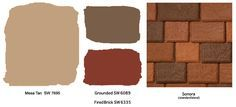 Stucco Exterior Home Color Schemes terra cotta roof | Exterior Colors For Southwest Style - Color From The Top Down ...