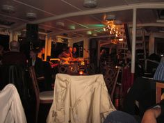 Adam Tvrdy Crossover - on the Jazz Boat in Prague - great jazz blues fusion!