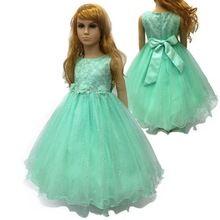 Vestidos de fiesta para ninas verde menta