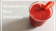 Strawberry Beet Smoothie - YouTube