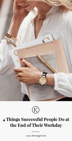 love cropping, pose, accessories seem carefully chosen to reflect story 4 Things Successful People Do in the Last 15 Minutes of Their Workday What Makes You Happy, Are You Happy, Boss Lady, Girl Boss, Stretch Stiefel, Successful People, Business Woman Successful, Working People, Career Quotes