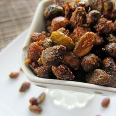 Sweet and Salty Smoked Pistachios recipe