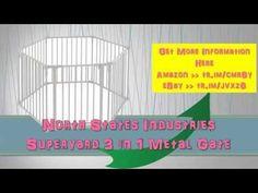North States Industries Superyard 3 in 1 Metal Gate|States Superyard|in ...
