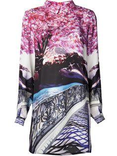 Mary Katrantzou Blossom Tree Print Blouse - Resort 2014