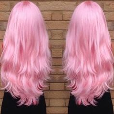 Best Pastel Hair Ideas To Try This Summer - new trend hairstyle Light Pink Hair, Pastel Pink Hair, Pink Wig, Hair Color Pink, Cool Hair Color, Baby Pink Hair, Long Pink Hair, Pink Hair Dye, Hair Colors