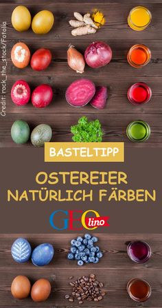 Color Easter eggs naturally - Nachhaltige DIY-Projekte: Kreative Ideen - We show you how you can color Easter eggs with natural materials! On GEOlino.de there are the instr - Valentines Day Gifts For Him, Valentines Day Party, Valentines Day Decorations, Valentine Day Crafts, Clay Crafts For Kids, Diy Crafts, Creative Crafts, Yarn Crafts, Fabric Crafts