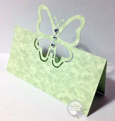 An Elegant Touch...: Placecard-Card Medley