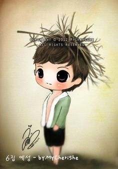 Adorable Yesung fanart. <3