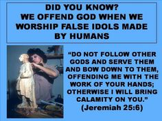 "The of the 10 commandments warns about ""making ANY carved image and bowing down to it"" meaning that it is not to be used in worship. Jw Bible, Bible Truth, Bible Scriptures, Bible Quotes, Qoutes, Life Questions, Bible Knowledge, Bible Teachings, Jehovah's Witnesses"