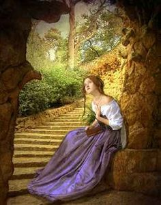 Solitaire Miles and Arthur Hughes