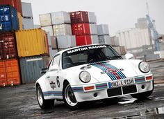 Martini hotrod.  Would be a great scheme for a 76-79 turbo, especially a 3.0.