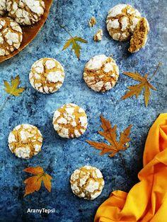 Sütőtökös pöfeteg recept - Kifőztük, online gasztromagazin Muffin, Cooking Recipes, Cookies, Breakfast, Cake, Sweet, Food, Christmas Ideas, Crack Crackers