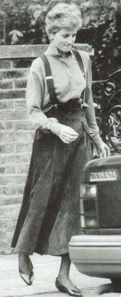 Princess Diana of Wales fashion