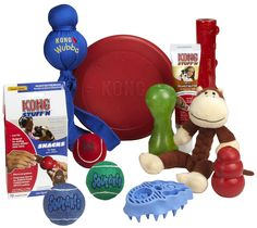 Kong Dog Pack....Best dog toys ever!