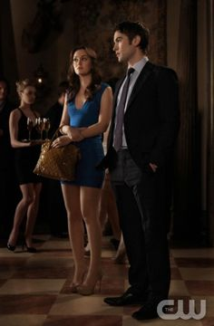 "Gossip Girl ""Raiders Of The Lost Art"" Pictured (l-r) Leighton Meester as Blair Waldorf and Chace Crawford as NatePHOTO CREDIT: GIOVANNI RUFINO / THE CW © 2011 THE CW NETWORK. ALL RIGHTS RESERVED"