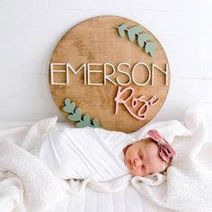Newborn Photography featuring round wood Name Sign - Baby - names girl elegant names girl pretty names girl vintage names girl with nicknames baby names girl Unisex Baby Names, Cute Baby Names, Baby Girl Names, Boy Names, The Babys, Baby Name List, Baby Name Signs, Wood Name Sign, Thing 1