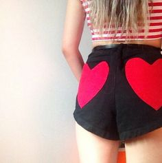 Lady Ren Ren in the Nothin' But Love Shorts (http://www.nastygal.com/product/nothin-but-love-shorts)