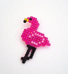 Flamboyant Flamingo Brooch Sparkly Kitsch by VelvetVolcano on Etsy, £9.40