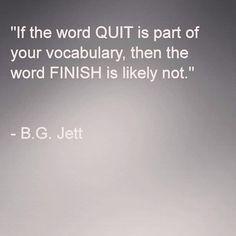 Quote  Quit  Finish  Vocabulary