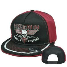 Affliction American Customs Fashion Clothing Live Fast Skull Snapback Hat Cap by Affliction. $14.99. Ufc. Affliction. MMA. Affliction American Customs Fashion Clothing Live Fast Skull Snapback Hat Cap. Save 40% Off!