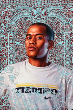 """Kehinde Wiley """"The World Stage - Israel"""" @ ARCOmadrid: New from American artist Kehinde Wiley is his latest exhibition at ARCOmadrid dubbed """"The World African American Artist, American Artists, Kehinde Wiley, Painting & Drawing, Rococo Painting, Arts Ed, Black Artists, Art Studios, Figurative Art"""