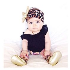 """""""Coming this weekend........ In my opinion, the must have, always neutral, leopard sparkle turban! ✨""""@BABY_JULES_BOUTIQUE"""