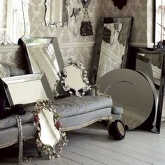 great inspiration -- Little Lovables: Inspired Design: French Gray Interiors