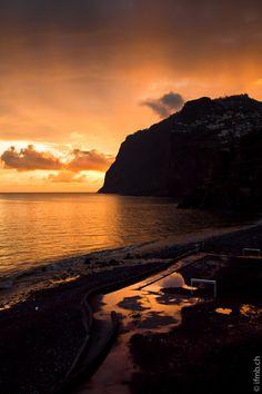 Momento romantico... Madeira al #tramonto #Portogallo