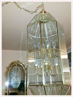 $99 Brass Chandilier