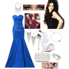 """""""Blue"""" by swaggy-baby101 on Polyvore"""