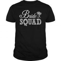 I Love Bride Squad T-shirt T-Shirts