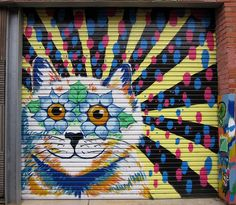 Kitteh Graffiti - Cat Street Art From Around the World...this one's in Melbourne, Australia