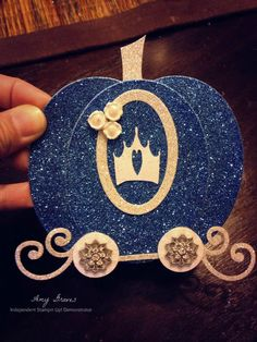 Cinderella's carriage card