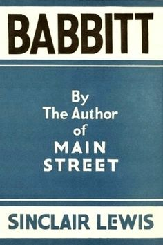 Guardian 100 Best Novels #47: Babbitt by Sinclair Lewis - free #EPUB or #Kindle from epubBooks.com