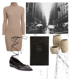 """""""Shady"""" by andreaher on Polyvore featuring Rumour London, Michael Kors, Smythson and Cyan Design"""