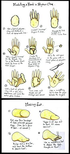 These are some notes I did when I was studying puppet-making. Hope they can be of use to someone else.