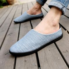2018 New Men Casual Shoes Summer Breathable Hemp Men Shoes Concise Soft Casual Flat Fashion Men Loafers Shoes Outfit Accessories From Touchy Style | Black, Blue, Casual Shoes, Flat, For Men's, White. | Free International Shipping.