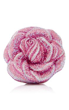 New Rose Clutch by JUDITH LEIBER COUTURE Now Available on Moda Operandi