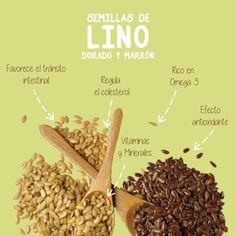 Las semillas de lino están consideradas como uno de los alimentos con más alto poder nutricional, ricas en fibra y Omega 3 hacen de estas semillas un alimento casi perfecto y por eso imprescindible en #Pansalud #ingredientespansalud #semillasdelino
